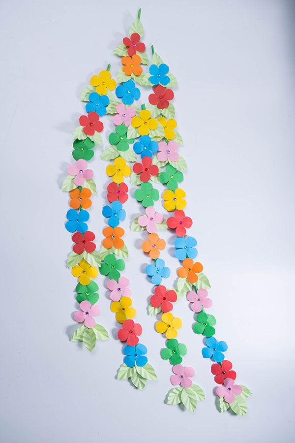 How to make beautiful flower wall decoration