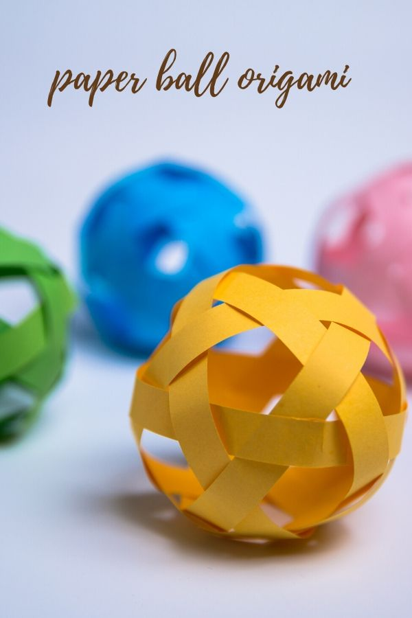 paper ball origami