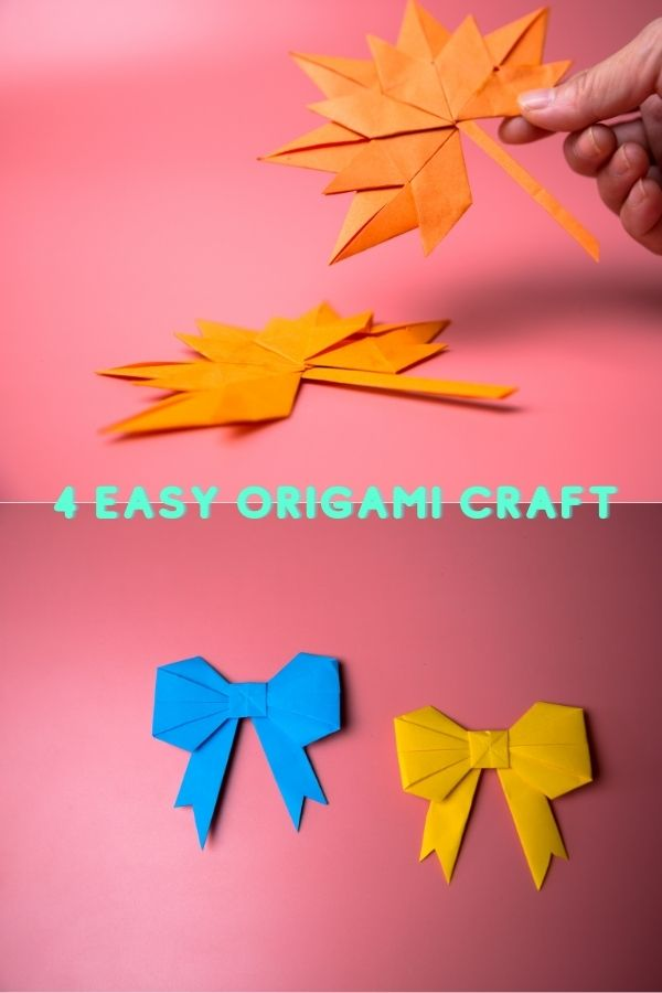4 easy origami craft