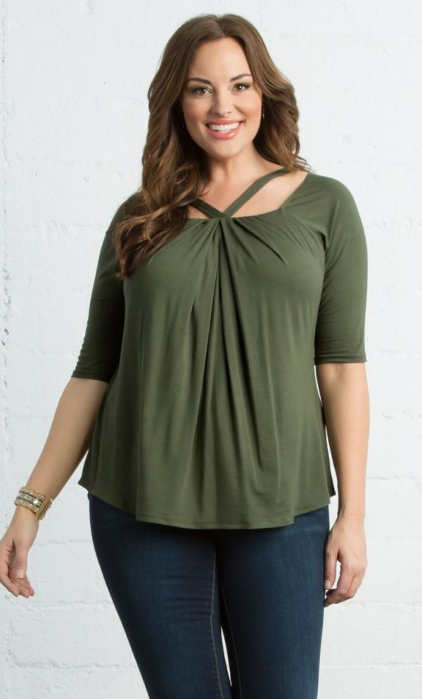 Destination Daydream Top, Olive You