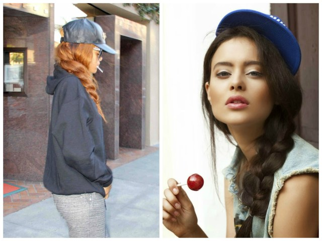 hairstyles to wear with a baseball cap