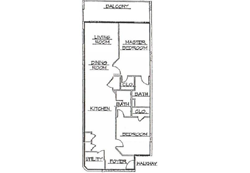 Summerlin 501: 2 Bedroom Vacation Condo Rental Fort Walton