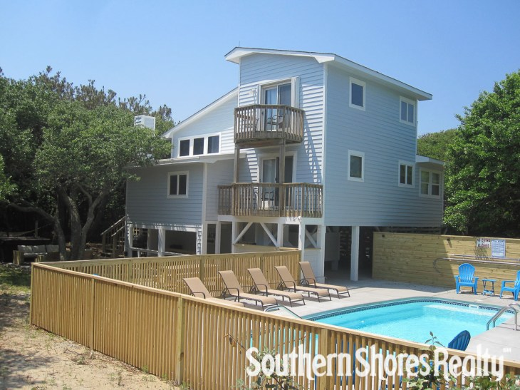 1262 - BEACH RETREAT : Vacation Place for Rent in Southern Shores North  Carolina