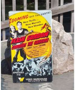 1985 VHS FLASH GORDON conquers the Universe Episodes 7 through 12 c. 1945