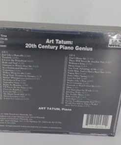 ART TATUM: 20th Century Piano Genius 2-CD Set 39 Tracks