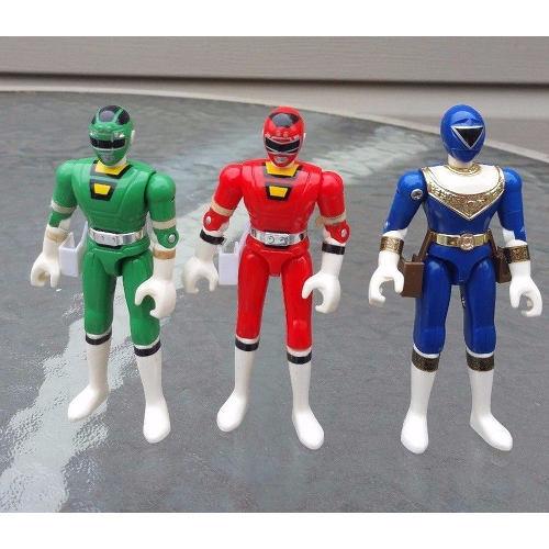 Bandai Power Rangers Ranger Figures 1996, 1997 lot 3