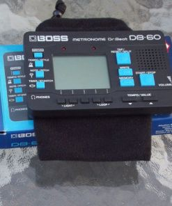 Boss DB-60 Dr. Beat Digital Metronomepouchdisplay