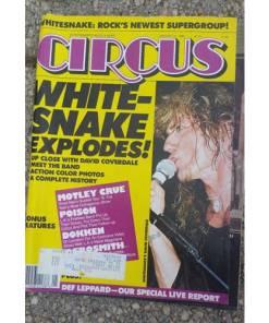 CIRCUS MUSIC MAGAZINE Lot 6 Halen Ozzy,Cruesnake