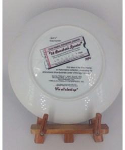 Elvis Presley Enterprises Presents 68 Comeback Special Bruce Emmett Plate back