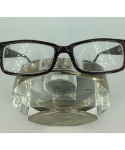 Gothamstyle Brown Stripes Eyeglasses Eyewear FRAMES 49-18-135 USA