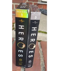 Heroes - Season 1 & 3 (DVD, 2007) Set 13 Disc Mint side