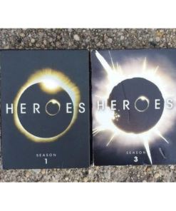 Heroes - Season 1 & 3 (DVD, 2007) Set 13 Disc Mint