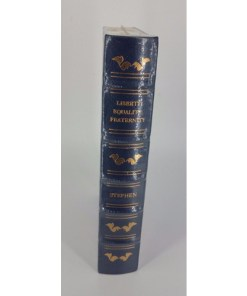 LIBERTY EQUALITY FRATERNITY LEATHER BOUND LAW BOOK LEGAL CLASSIC LIBRARY GRYPHON