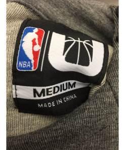 NWT Brooklyn Nets Hoody Size Meduim New NBA Official Basketball size