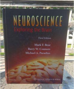 Neuroscience: Exploring the Brain by Connors, Bear & Paradiso 3rd Ed9780781760034