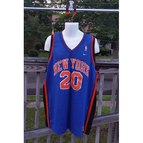 Nike Allan Houston #20 New York Knicks Jersey Size XLarge Sewn