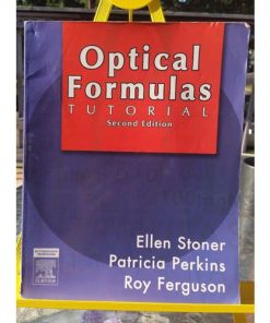Optical Formulas Tutorial, 2nd Edition 9780750675048