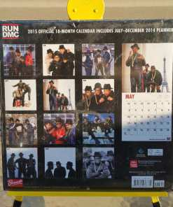 Run DMC Official 2015 18-Months Calendar back