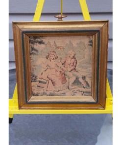 SUNGOTT ART STUDIOS FRAMED TAPESTRY ELEGANT VICTORIAN DECORsingle2