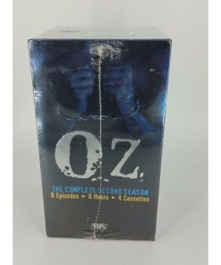 VIDEO - VHS - OZ THE COMPLETE SECOND SEASON 4 TAPE SET - SEASON 2
