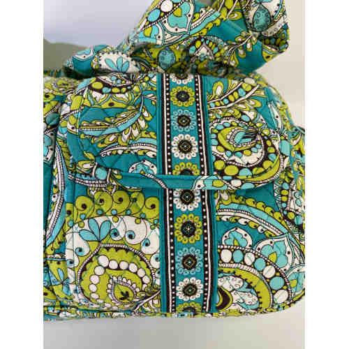 Vera Bradley Slouchy Hobo Style Peacock Pattern Shoulder Bag