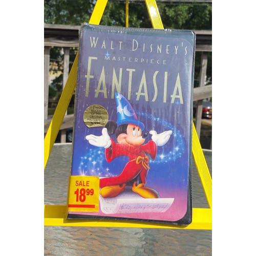 Walt Disney VHS Video Fantasia Masterpiece CLAMSHELL 0717951132031