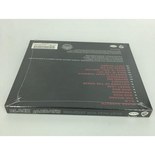 BLACK SABBATH CD - GREATEST HITS 1970-1978 (2006) side