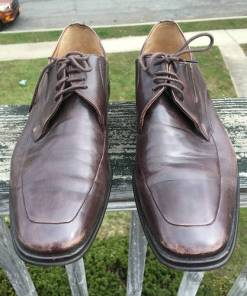 BRUNO MAGLI RANUNCOLO MENS BROWN CALF LEATHER Made In Italy SIZE 8M