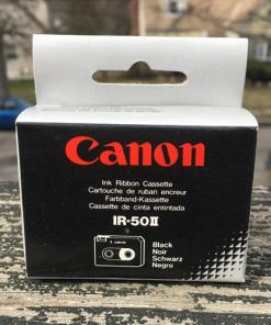 Canon Model IR50 ll Black Ink Nylon typewriter Ribbons 2 Pack NIB 038569101272