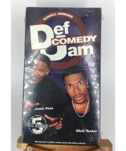 Def Comedy Jam All Stars 5 (1999) VHS Jamie Foxx Chris Tucker 764315088732