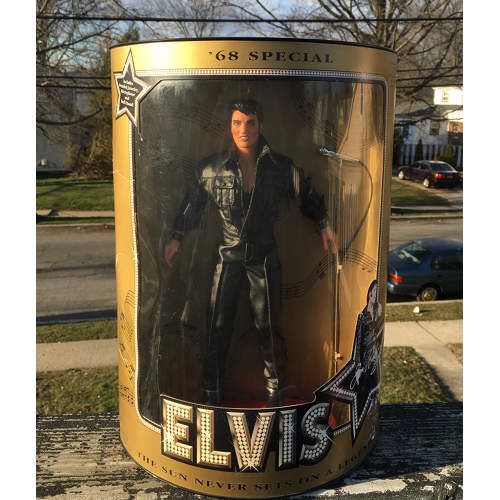 Elvis Presley '68 Special Doll #9146 Never Removed from Box 1913 by Hasbro 12in.