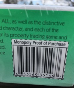 Hasbro Gaming Monopoly Speed Die Edition 2-8 Player Age 8+ barcode 653569351467