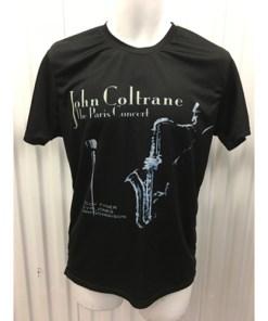John Coltrane The Paris Concert Album Cover T-Shirt Sz small