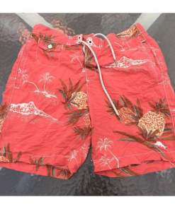 Men's Tommy Bahama Relax Floral Swim Trunks Shorts-Size S
