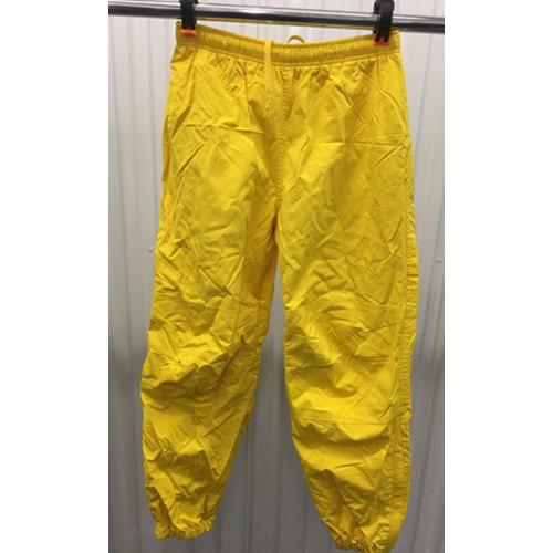 Polo Sport Track Pants Mens S Joggers Yellow 90s Ralph Lauren Zip Bottom