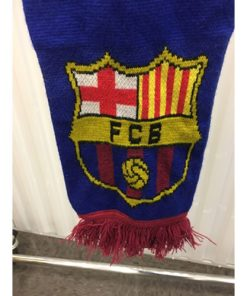 Spain Barcelona FCB FC Barcelona Scarf Made in England fcb
