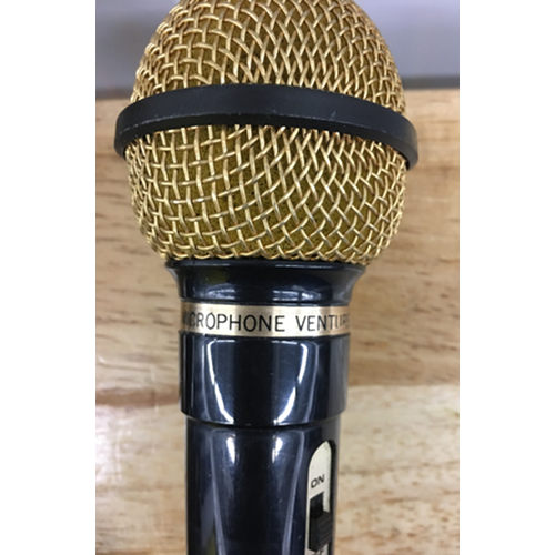 VENTURER Uni Directional Dynamic Microphone double