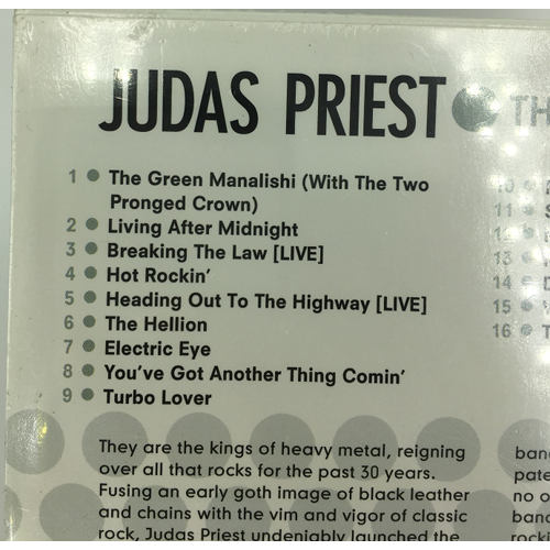 judas priest The hits cd living after midnight tracklist 074666518021