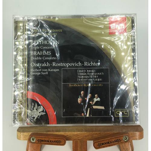Beethoven Triple Concerto; Brahms Double Concerto EMI Classics 724356695429