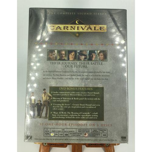 Carnivale - The Complete Second Season (DVD, 2006, 6-Disc Set) back 026359265921