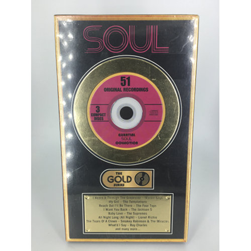 Soul The Gold Series Compilation Essential Soul Collector Box Set779836929921