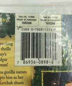 Walt Disney Tarzan (VHS, 2005) THX SOUND BARCODE 786936089868
