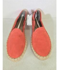 gap pink suede loafer espadrilles