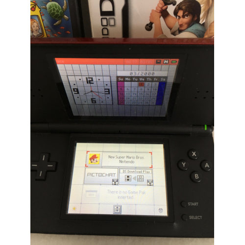 Nintendo DS Lite Crimson
