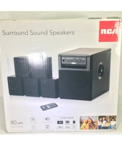 rca 80 watt home theater speaker
