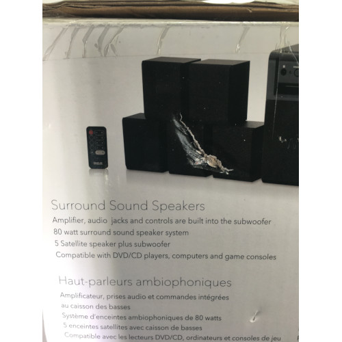 rca home theater speaker system