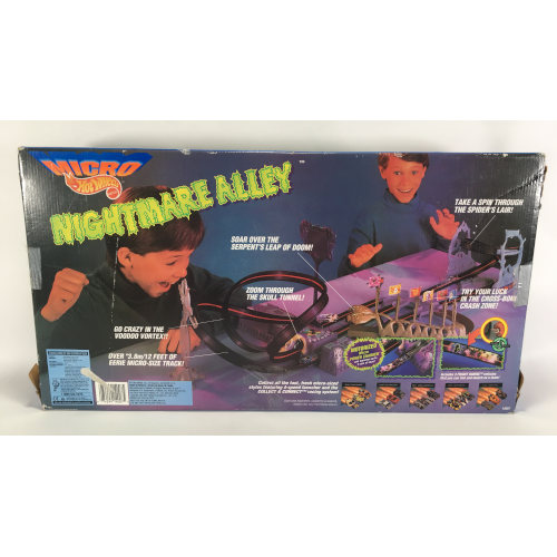 Micro Hot Wheels Nightmare Alley Electric Toy Car Set