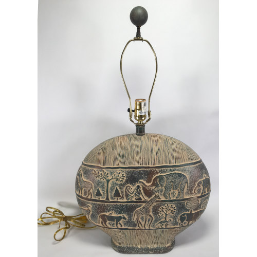 Pacific Coast Lighting Table Lamp (African Theme )
