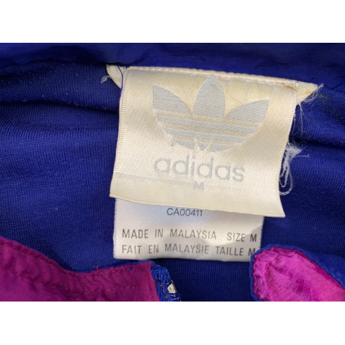90's Adidas full-zip embroidered track jacket CA00411