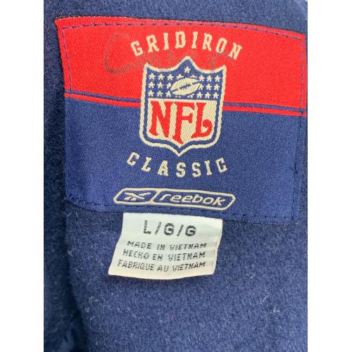 DENVER BRONCOS NFL GRIDIRON CLASSIC REEBOK VARSITY WOOL JACKET